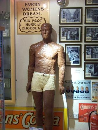 Walkers Chocolate Emporium : Chocolate Man