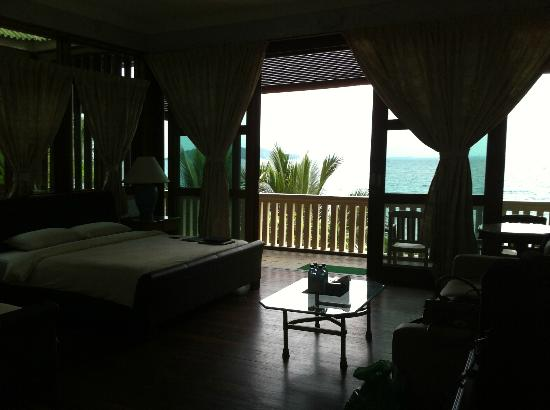 Rawa Island Resort: Frangipanni Villa, top floor.