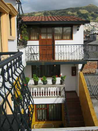 Hotel San Francisco de Quito: From the balcony