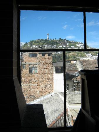 Hotel San Francisco de Quito: Million dollar view form room---just one of the amazing vistas that provide for the 360