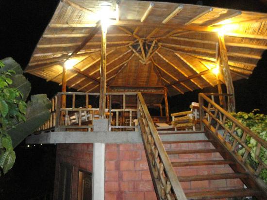 Happy Hill Hostel: Quiosco/Gazebo