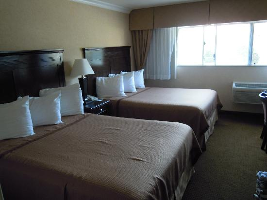 Vagabond Inn Executive Pasadena: 2 queen beds