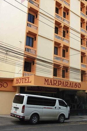 Hotel Marparaiso: main Entrance
