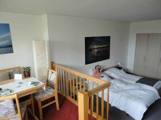 Hotel Murten: Habitación doble superior