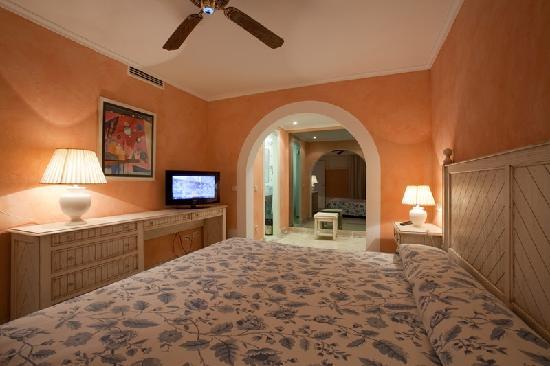 Royal Son Bou Family Club : Dormitorio principal apartamento A2E (2 dormitorios, 2 baños)