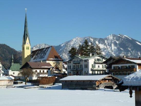 Ferienappartements Schmotz am See: Winterstimmung
