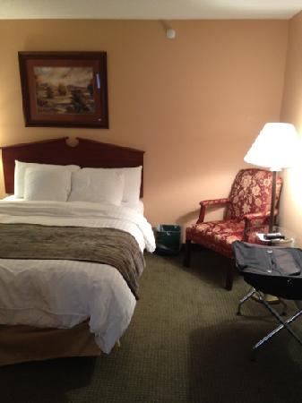 GrandStay Residential Suites Hotel - Sheboygan: sitting area in bedroom