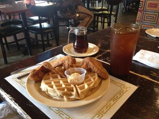 Photo of American Restaurant Maxine's Chicken & Waffles at 132 N East St, Indianapolis, IN 46204, United States