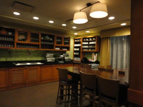 Hyatt Place Houston/Bush Airport: Breakfast area