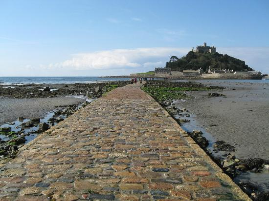 Blue Horizon Bed & Breakfast: Ideal location for walking to St. Michael's Mount