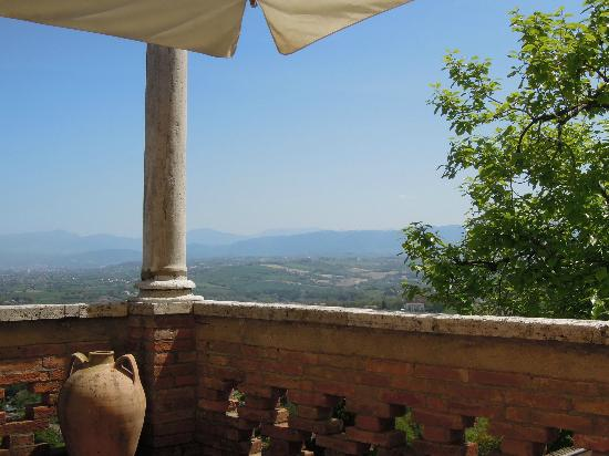 Albergo Il Minareto: View from terrace