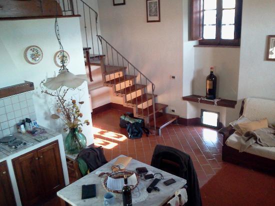 Romitorio di Serelle: Loft apartment