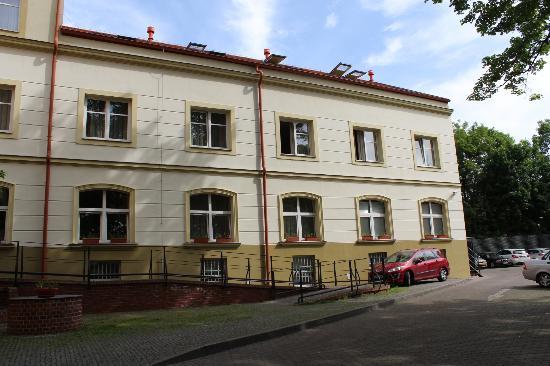 Hotel Ostruvek : facade hotel
