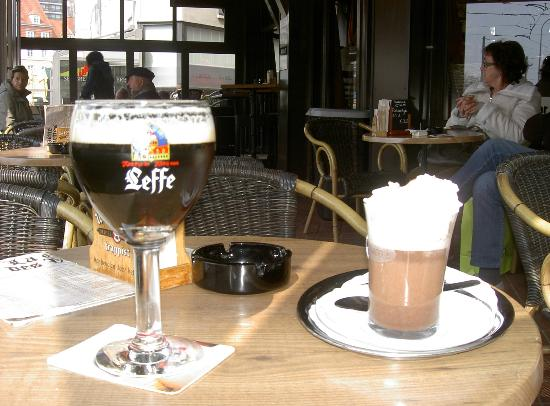 Hotel du Parc : Lekker op Terras in Oostende