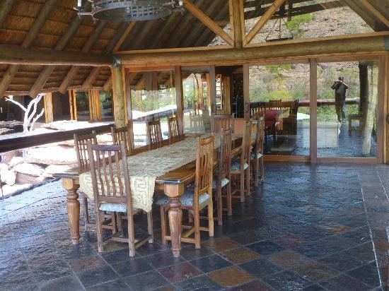 Sediba Private Game Lodge: Een van de ruimten in het hoofdgebouw