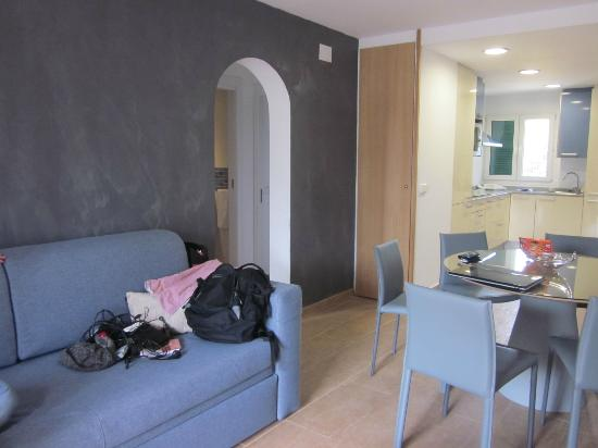 Aparthotel Ona Aucanada: Livingroom