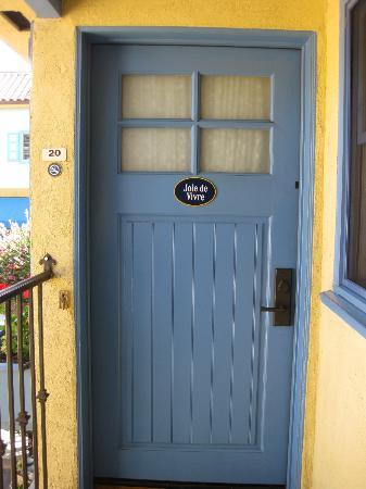 Petit Soleil, Bed and Breakfast: Door of Suite