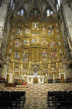 retable du maitre autel photo de catedral primada. Black Bedroom Furniture Sets. Home Design Ideas
