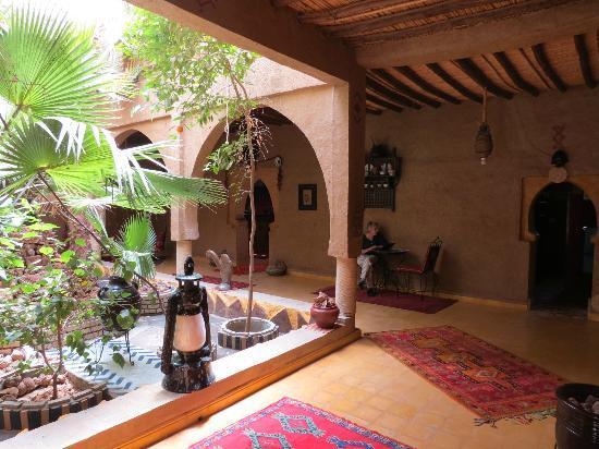 Hotel Kasbah Mohayut: entrance
