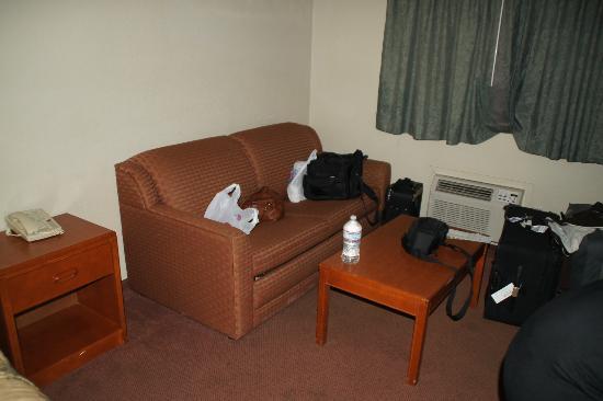 Good Nite Inn near SeaWorld : Sitzmöglichkeit