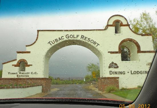Tubac Golf Resort & Spa: Entrance to the Resort