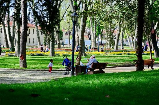 Yeni Hostel: Gulhane park is a 5-minute walk