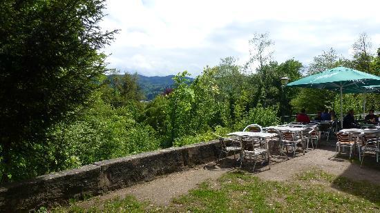 Schlosscafe terrace
