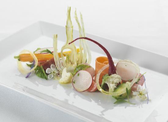 Persimmon Restaurant: Warm salad of spring vegetables
