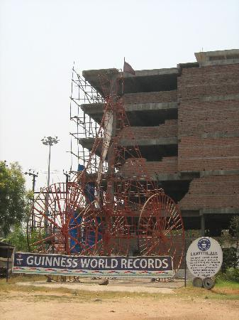 Sudha Cars Museum: Tricycle Guinness World Records