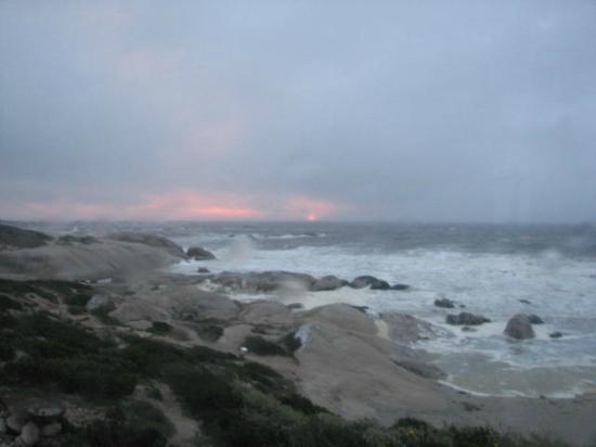The Oystercatcher's Haven at Paternoster: View from our room