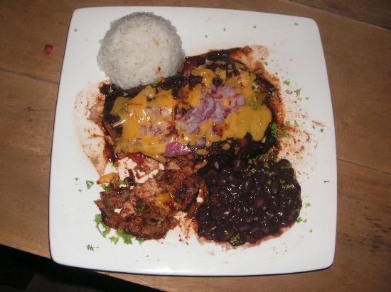 Pancho's Mexican Restaurant: Enchiladas