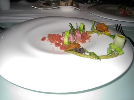 Grand Velas Riviera Maya: Amazing presentation from Cocina de Autor