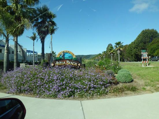 Inn at Avila Beach: Arriving in Avila Beach