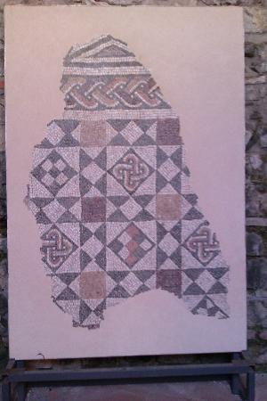 Felix Romuliana in Gamzigrad: Mosaic