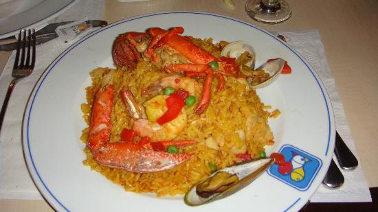 Marisqueria Atlantica de Isla Verde : Seafood Paella