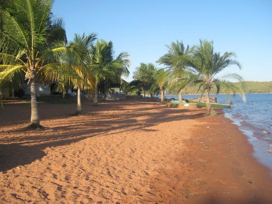 Siavonga, Sambia: sandy beach