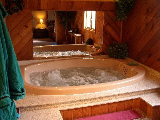 Tudor Rose Bed & Breakfast and Chalets: Hot Tub Suite