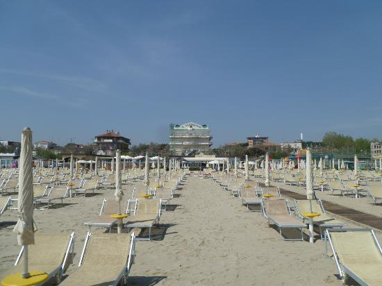 Hotel Conchiglia: Beach for the hotel