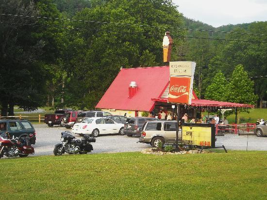Burger Master Drive In : Burger Master, Townsend, Tn.