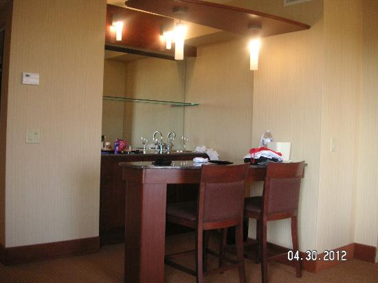 Quality Inn & Suites Levis : bar suite 218