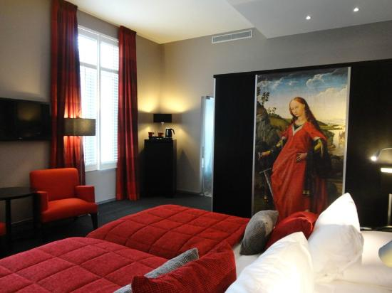 Martin's Klooster Hotel: Charming room