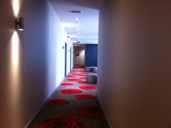 Martin's Klooster Hotel: Corridor
