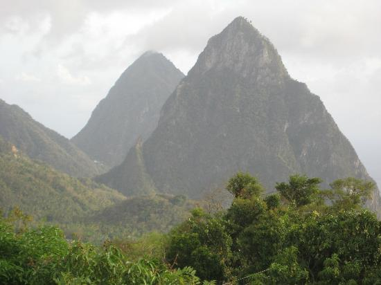 Crystals St Lucia: The Pitons