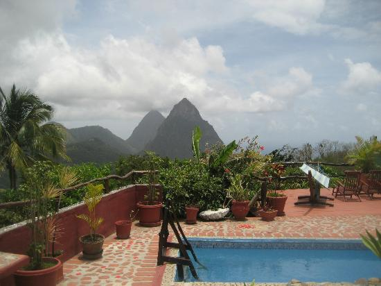 Crystals St Lucia : The Pitons