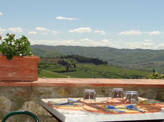 Ristorante  Oltre il giardino: Spectacular views from a dining terrace !