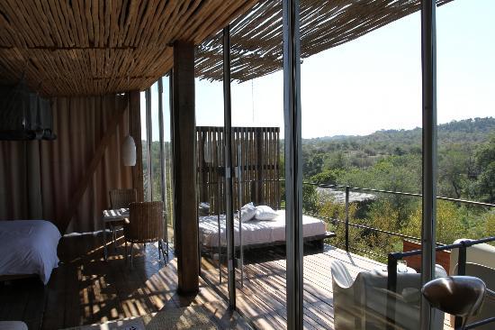 Singita Lebombo Lodge: Balcony