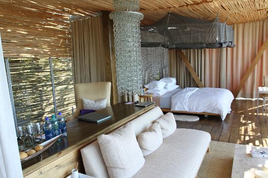 Singita Lebombo Lodge: Bedroom
