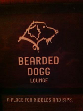 Bearded Dogg Lounge: front of menu