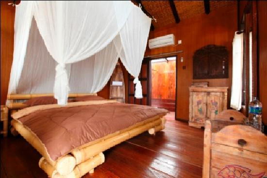 Berau, Indonesien: double room