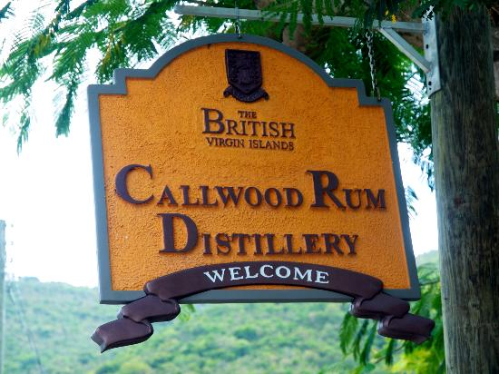 Callwood Distillery: look for sign on road